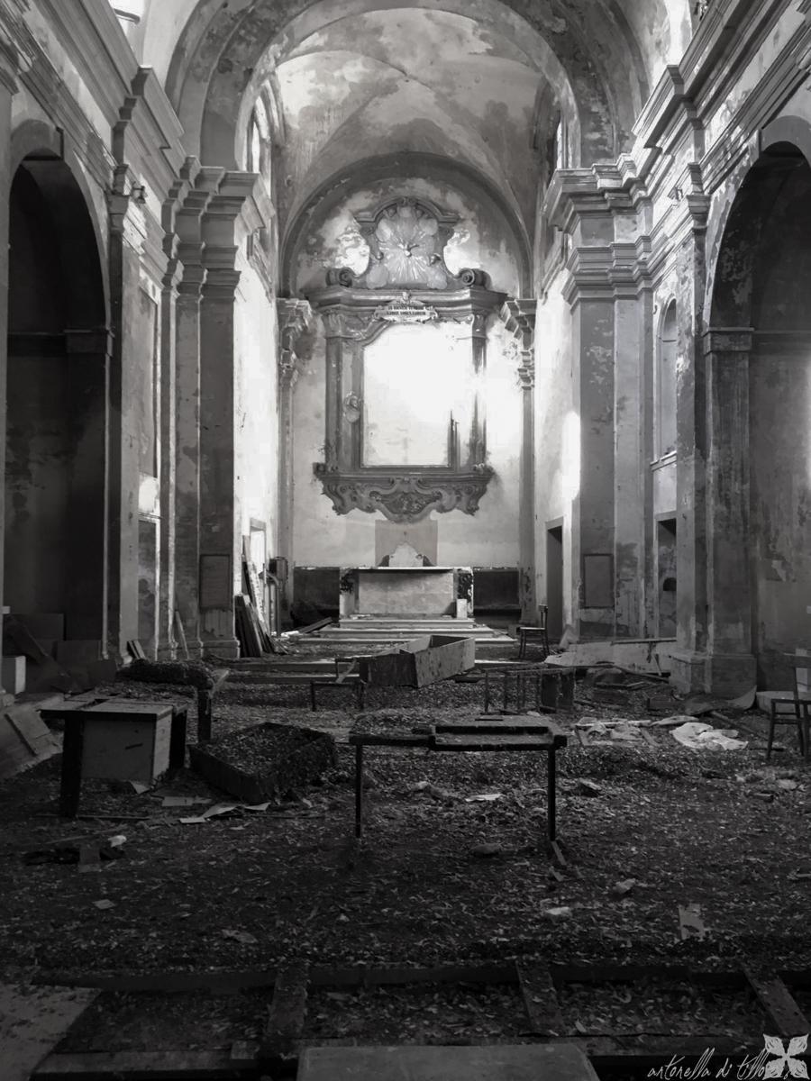 altare, chiesa, abbandono